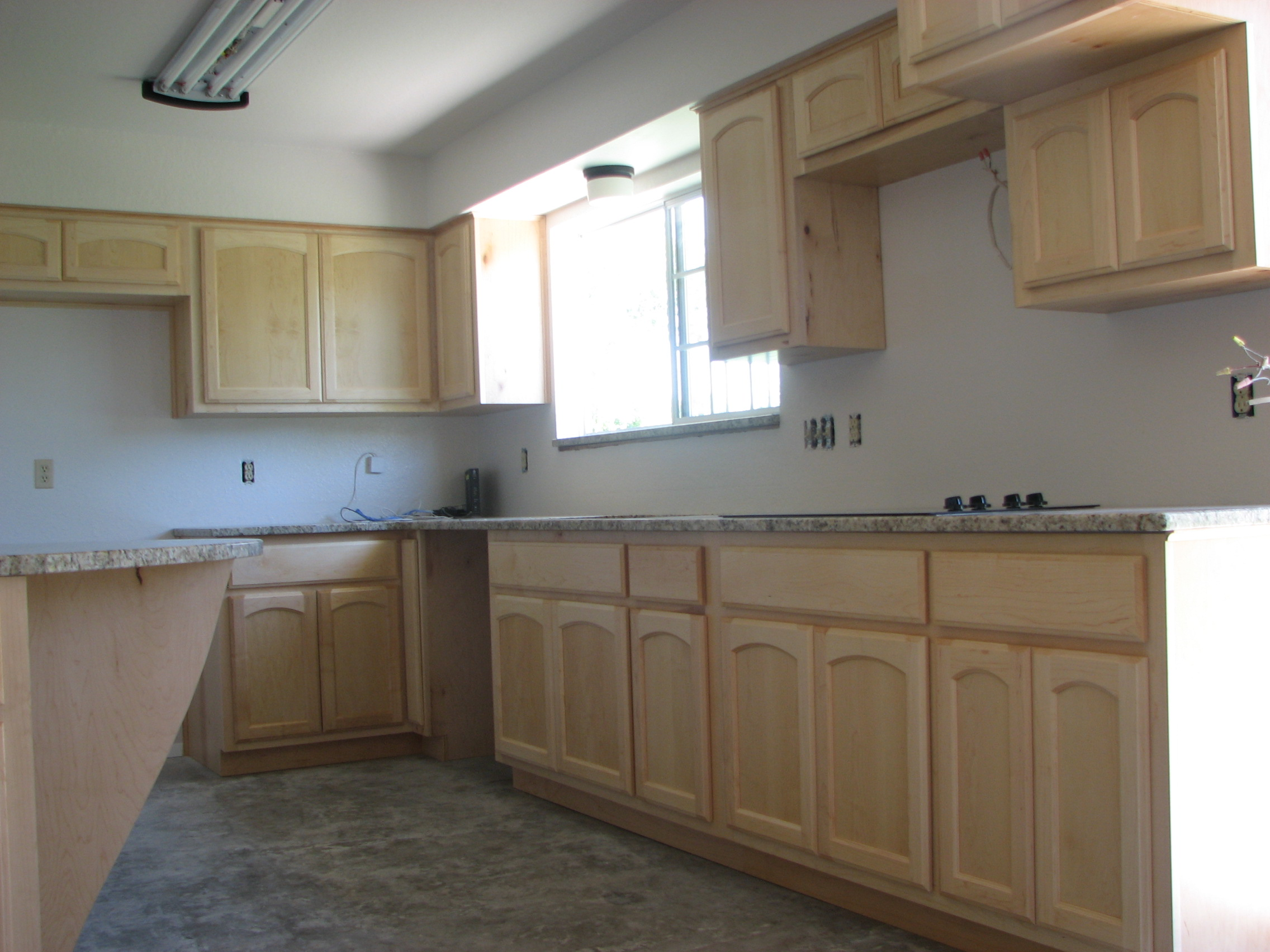 wooden maple cabinets in Austin