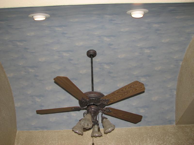 Resident Custom Drywall Painted Ceilings in Austin Texas