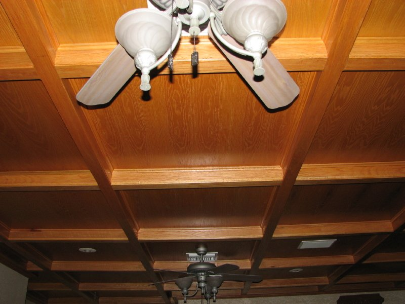Wooden Coffered Ceilings In Austin, Texas