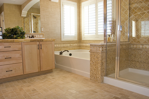 bathroom makeover in Austin, Texas