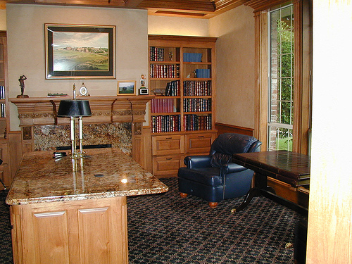 Custom commercial office cabinetry in Austin, Texas