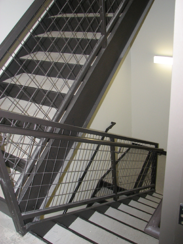 Commercial Fire Rated Stairs in Austin Texas