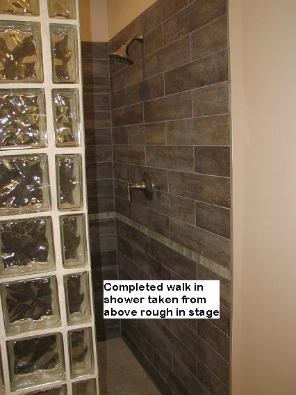 Custom Walk In Shower in Austin, Texas