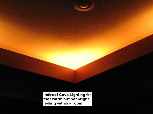 Cove Lighting In Austin, Texas