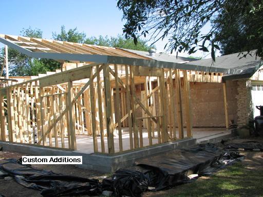 Custom Housing Additions in Austin, Texas