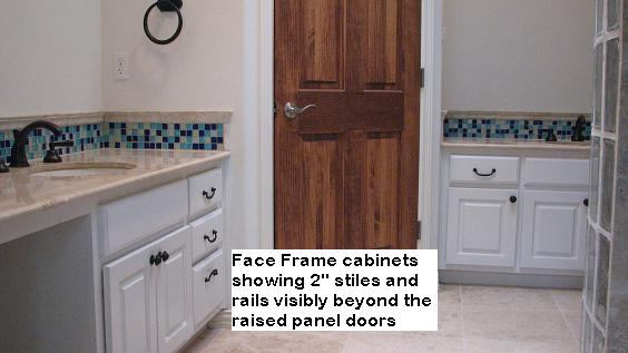 Face frame cabinetry in Austin, Texas