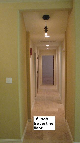 Travertine Custom Flooring in Austin, Texas