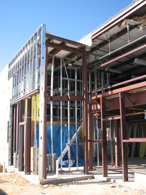 Commercial ametal Framing in Austin, texas