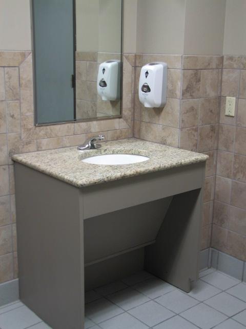 wheelchair accessible vanities in Austin, Texas