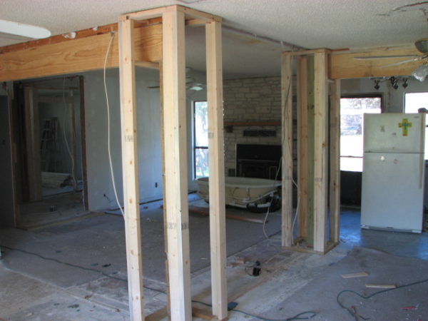Removing Walls During Remodeling in Austin, Texas