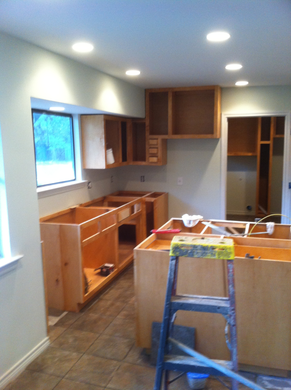 Kitchen remodels accented with fine cabinertr in Austin,Texas