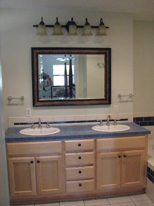 Custom Maple Vanities in Austin, Texas