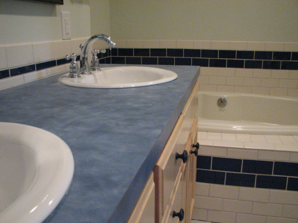 Fine Cabinetry with Plastic Laminate Tops in Austin, Texas