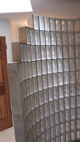 Residental Glass Block Designs in Austin Texas