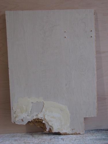 melamine failure in Eurropean cabinets in Austin, Texas