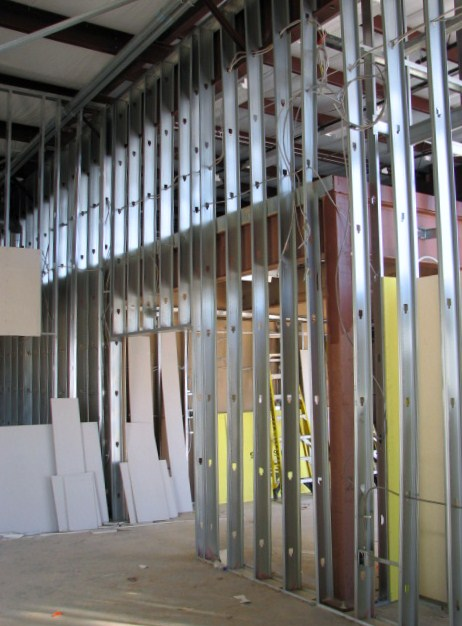 Commercial Metal Framing in Austin, Texas