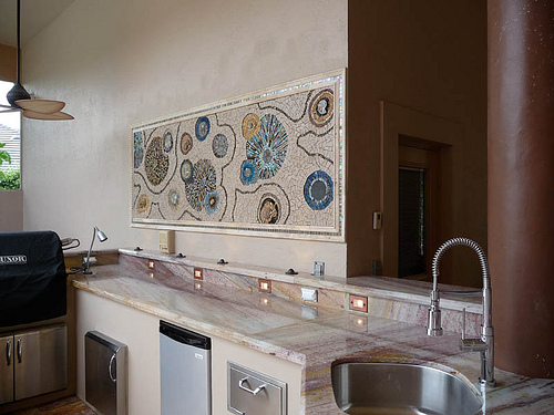 Stainless Steel Countertops in Outdoor Kitchens