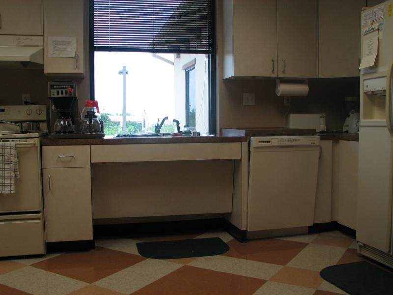 Commercial ADA Accessible European Kitchen in Austin Texas