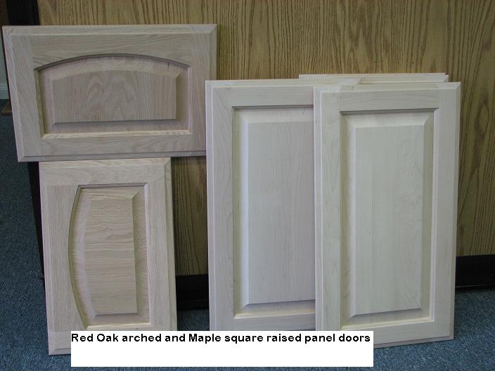 Custom Raised Panel cabinet doors in Austin, Texas