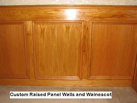 Raised Panel Walls In Austin, Texas