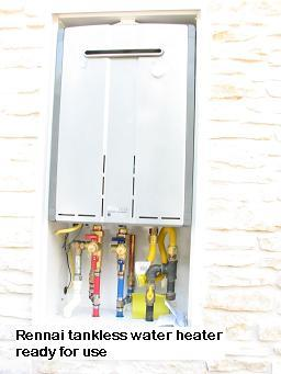 Energy minded tankless water heaters in Austin, Texas