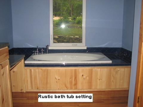 Custom Tub Pedestals in Austin, Texas