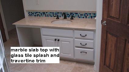 Custom Bathroom Counter Tops in Austin Texas