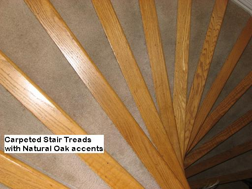 Spiral Stair with wood accents in Austin, Texas