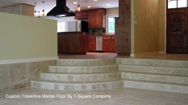 Custom tile design and installation