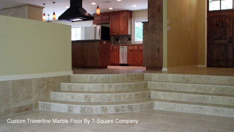 Custom tile design and installation