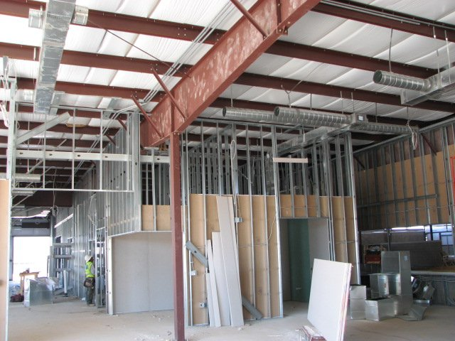 Tenant Improvements in Austin, Texas, Commercial Window Walls, ADA Compliant Bathrooms and Break Rooms, Commercial Cabinetry, Common Areas and Fire Corridors