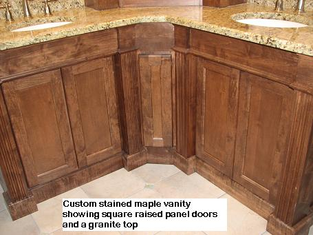 Fine Bathroom Cabinetry With Granite Top