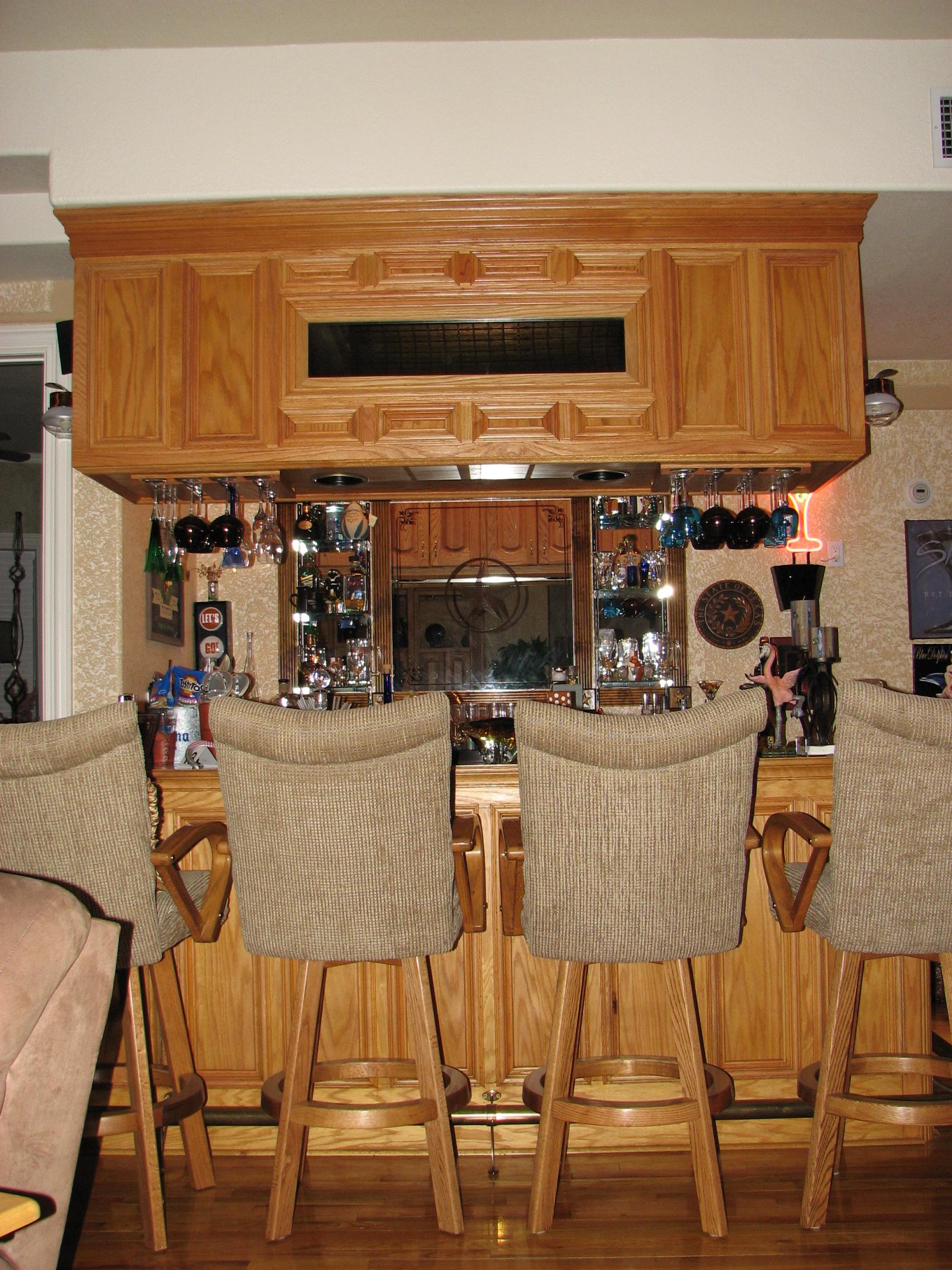 Custom Residential Wet Bars