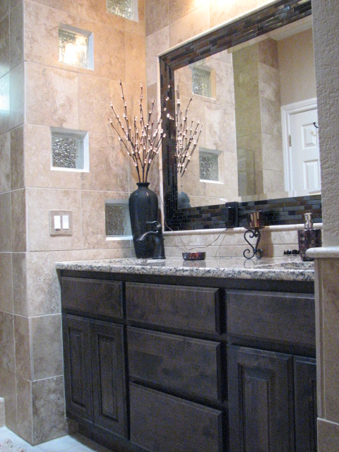 Custom Vanities and Mirror Installations