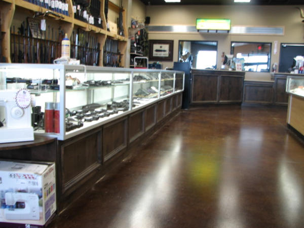 Commercial Display Cabinetry in Austin, Texas