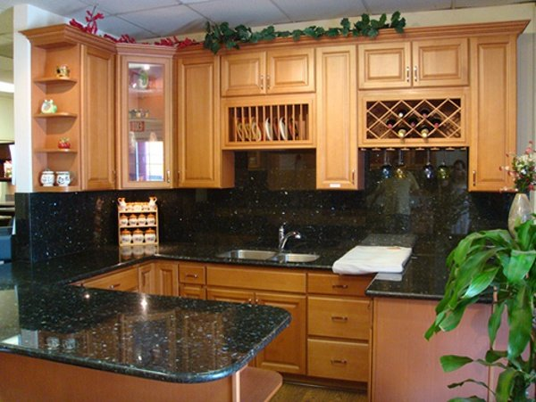 Fine cabinetry enhances all our Kitchen Upgrades
