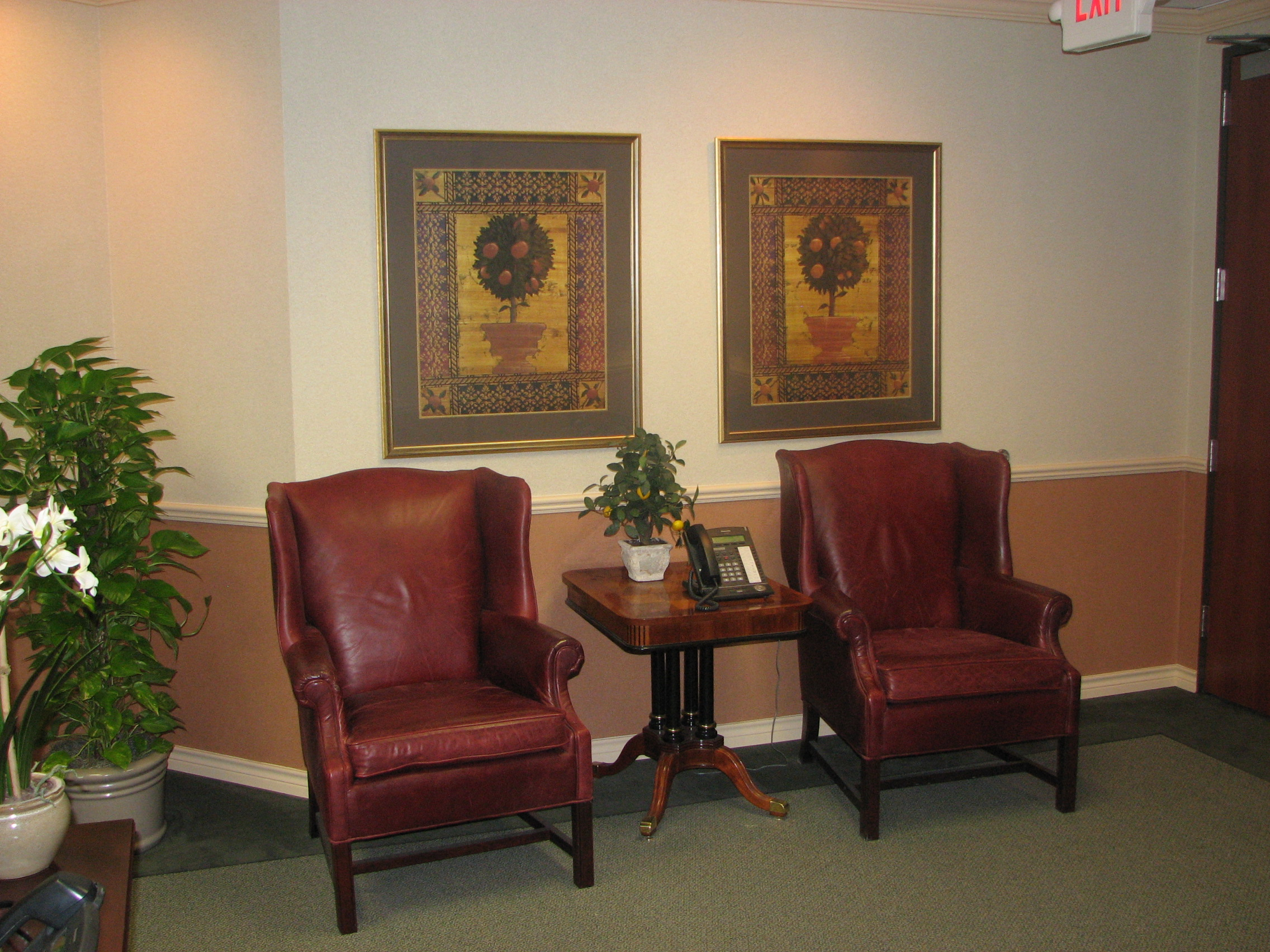 Customer Waiting Areas