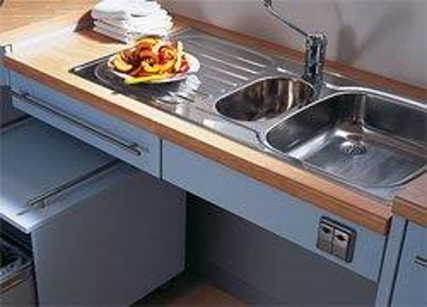 Totally accessible lowered countertops