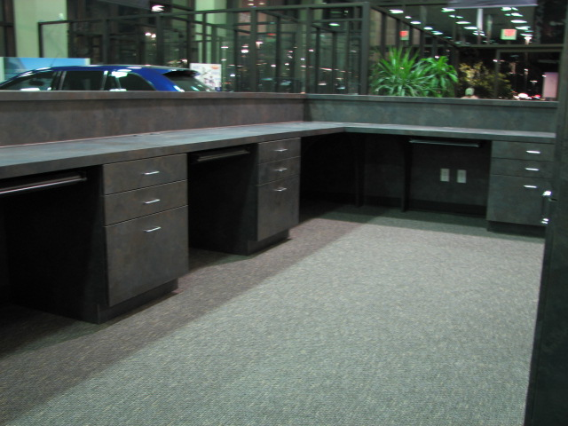 Customized work areas