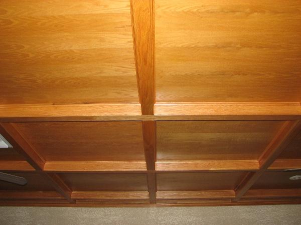 Custom wooden ceilings