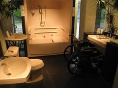 disability kitchen remodels in austin wheelchair accessible bathroom modifications in austin