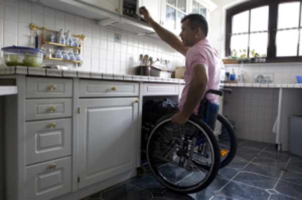 Kitchens ansd break areas with wheelchair access