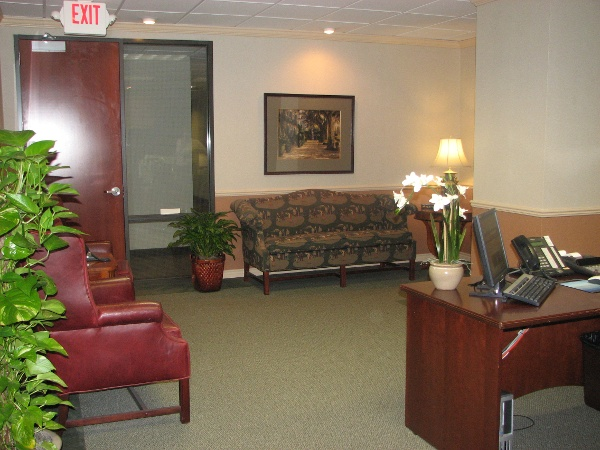 Sidelights for office entrances