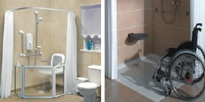 Special needs bathing designs