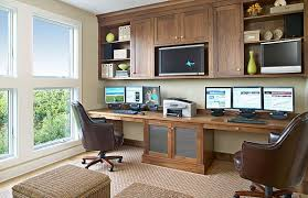 Home offices for the two of you