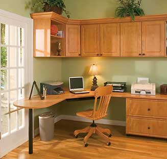 Custom home office designs in Austin, Texas