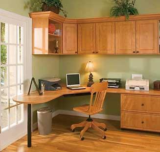 Custom home office designs in Austin, Texas