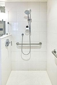 High Quality ADA Roll In Shower Designs In Austin, Texas