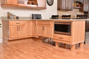 ADA compliant kitchen cabinets in Austin, Texas