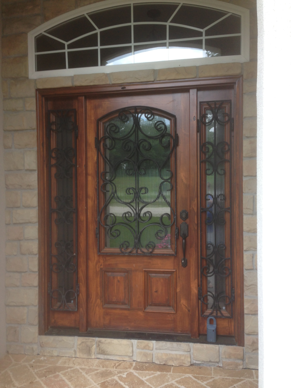Custom front entries in Austin, Texas